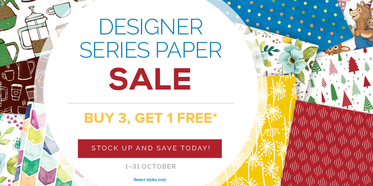Get Free Designer Series Paper Packs!